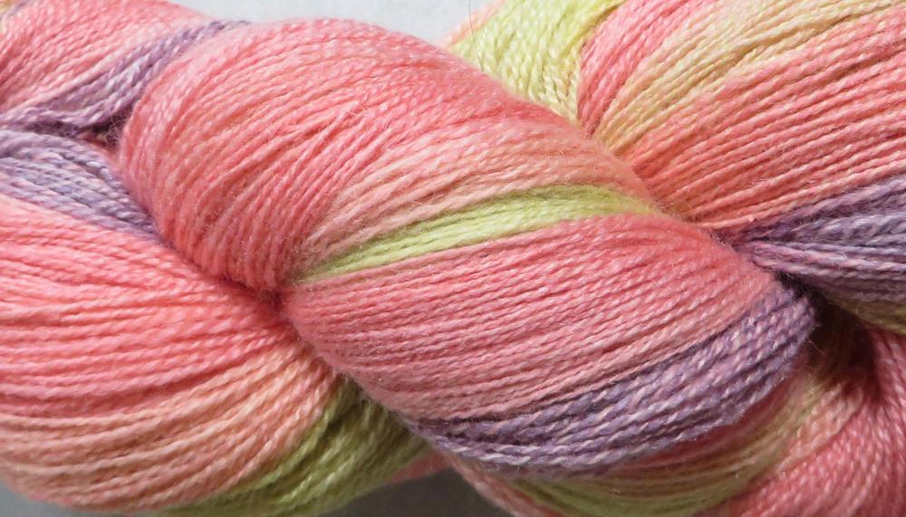Merino/Silk in  Petals -2ply