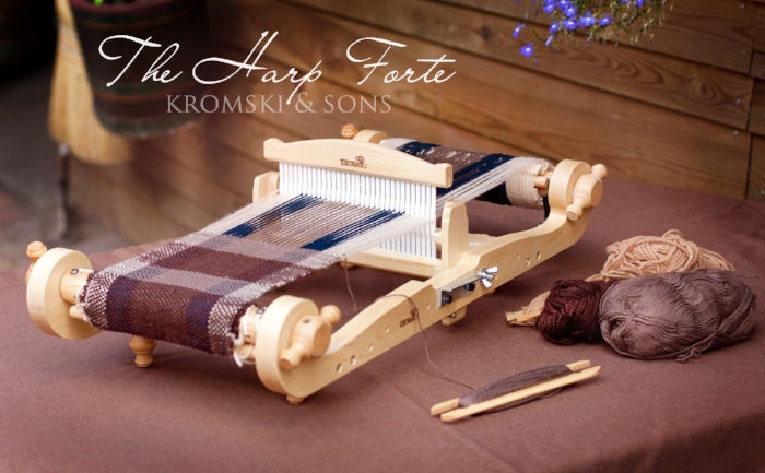 "8"" Kromski Harp Forte Rigid Heddle Loom"
