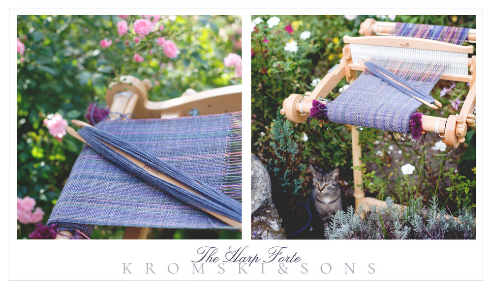 "16"" Kromski Harp Forte Rigid Heddle Loom with Stand"