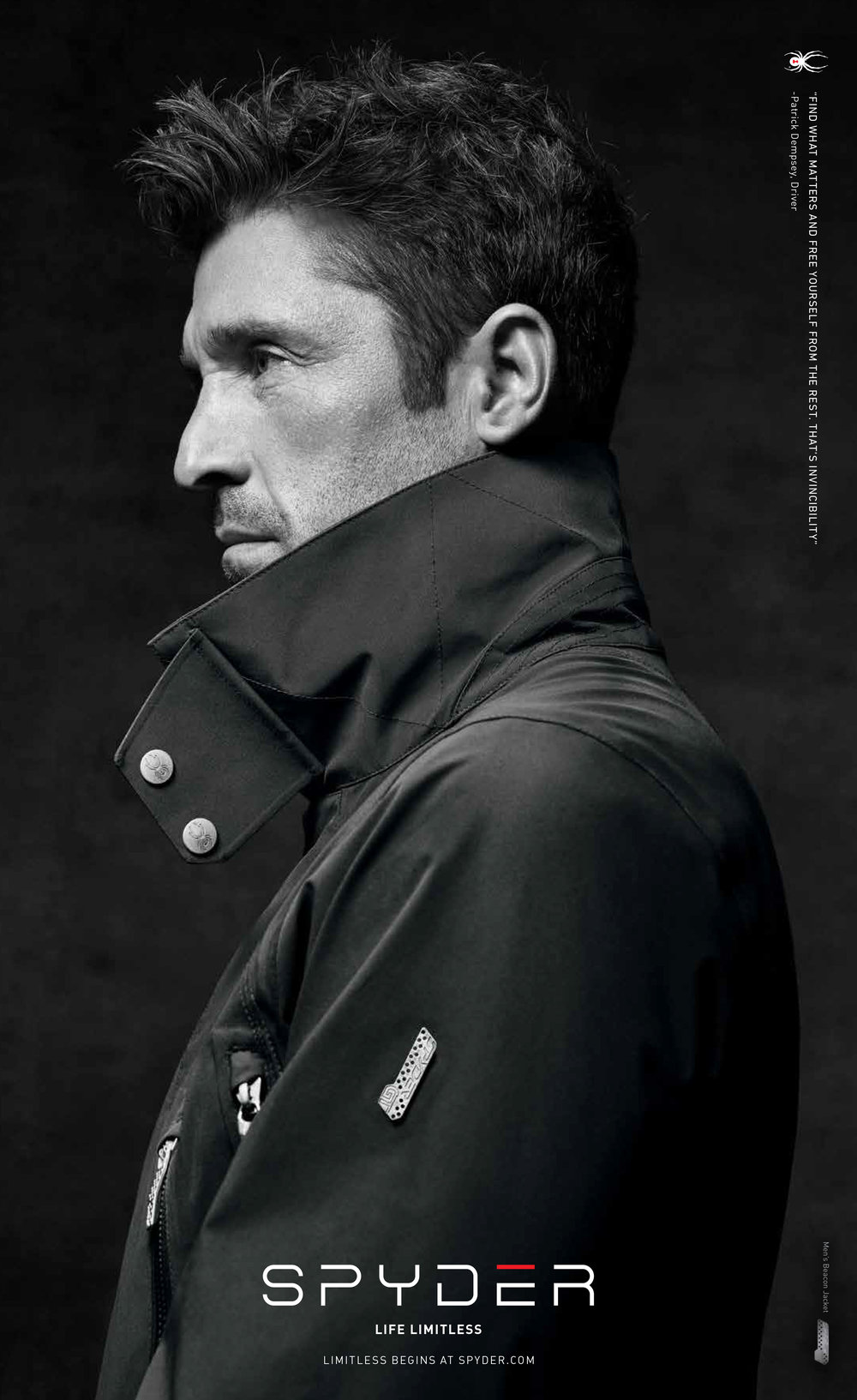 The GT Beacon Jacket featured in Esquire's Black Book (Summer 2015)