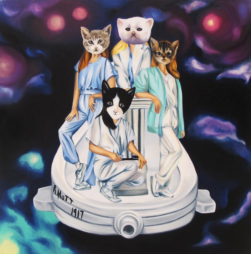 Duchamp's Cats