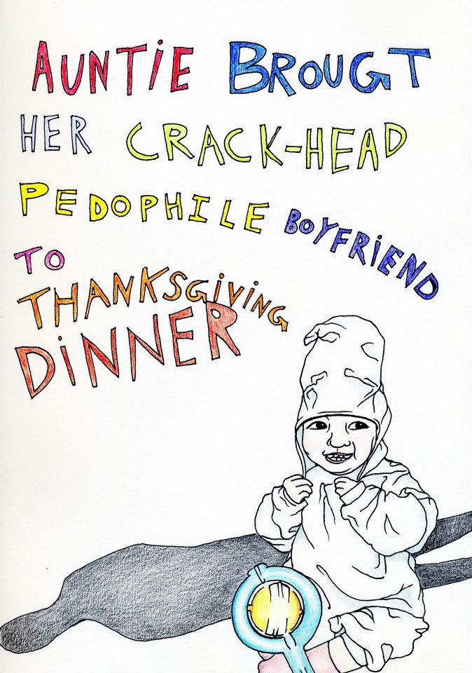 the coloring book for fucked up kids