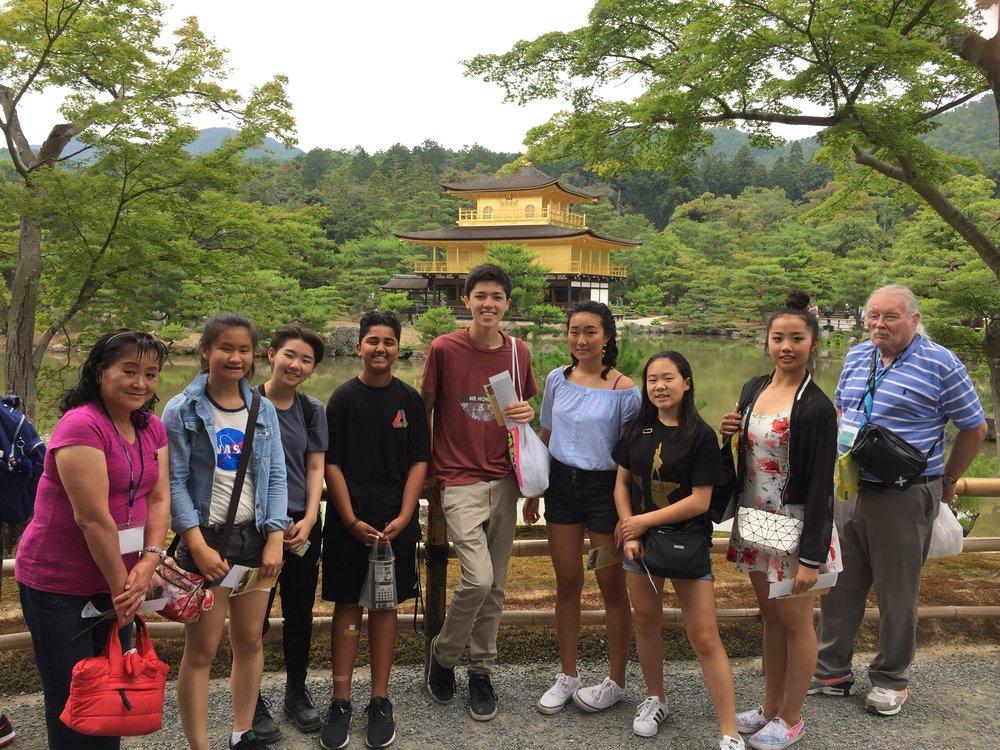 Kinkakuji Shrine in Kyoto