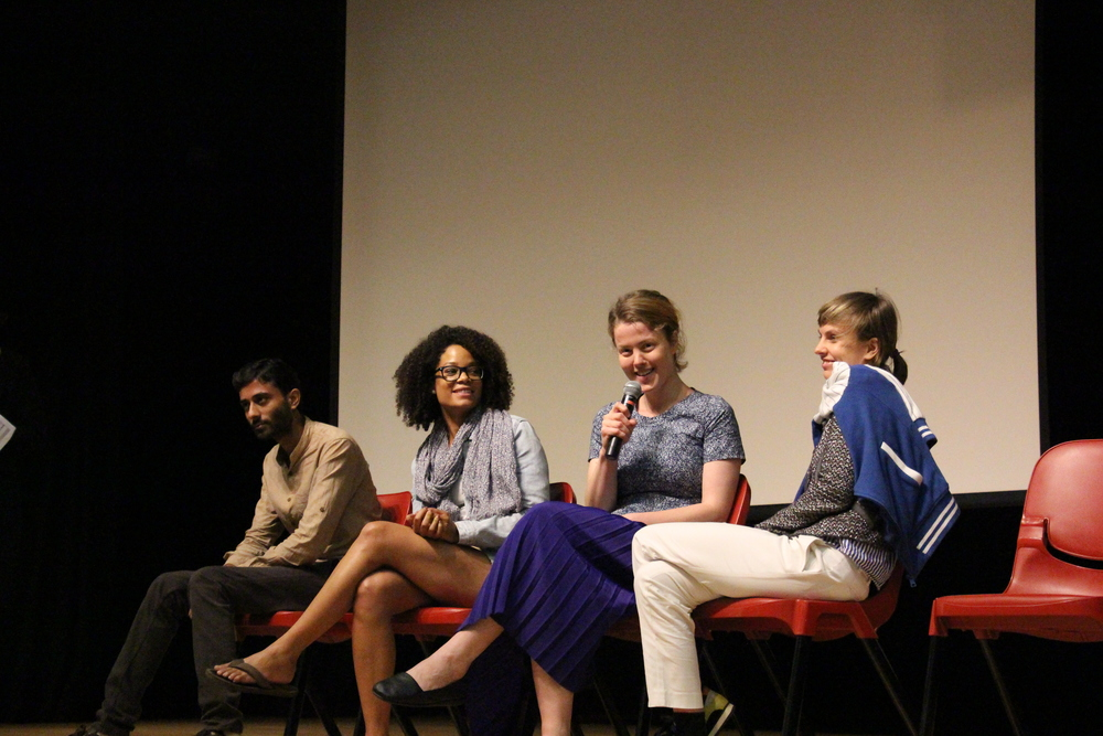 Q&A Panel Discussion after our respective film screenings