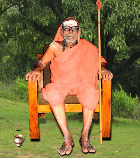 Paramahamsa Parivrajakacharyavarya Sri Sri Vimarshananda Nathendra Saraswati Swamigal