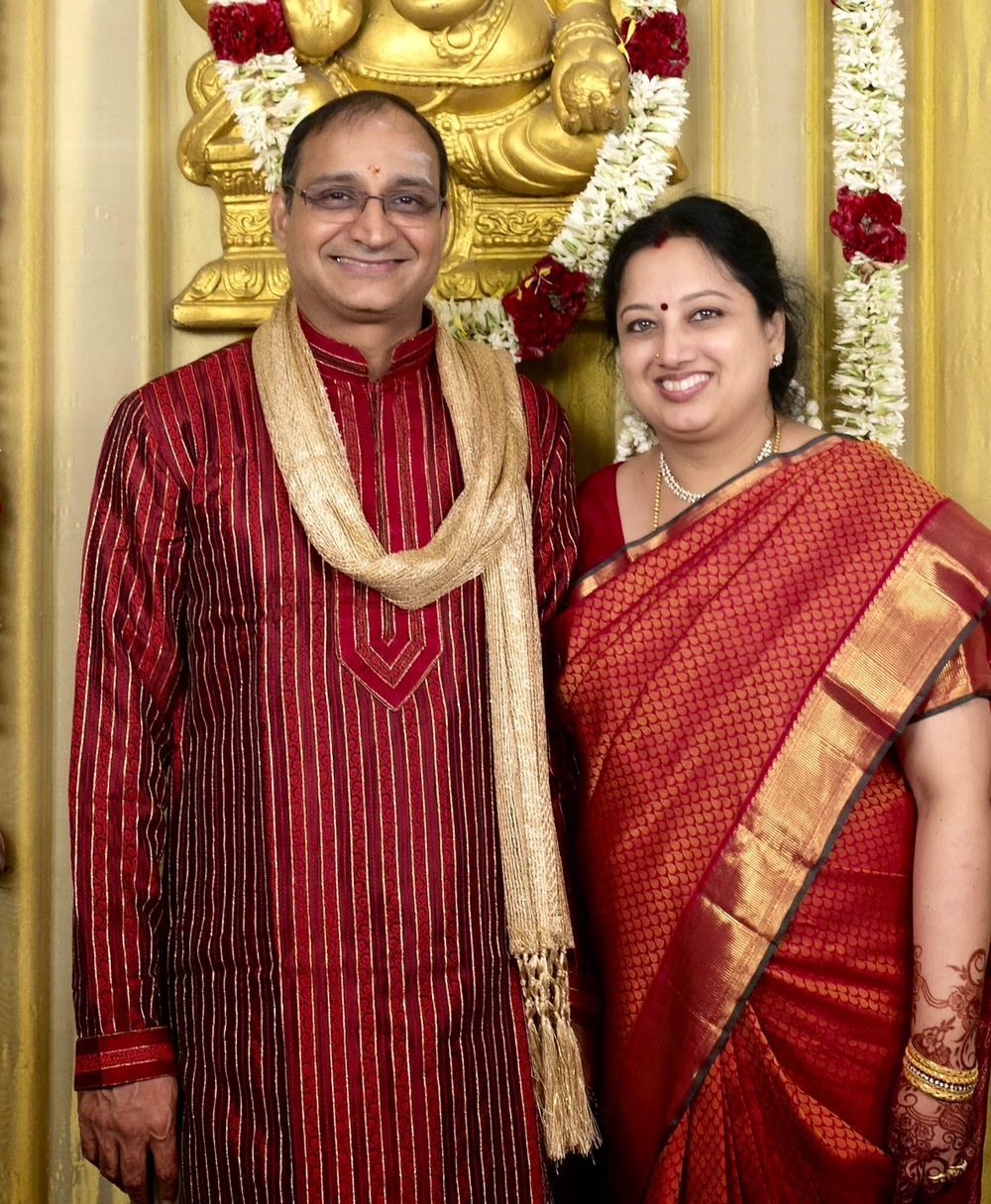 Sri Raghu Ranganathan and Smt Akhila Ranganathan