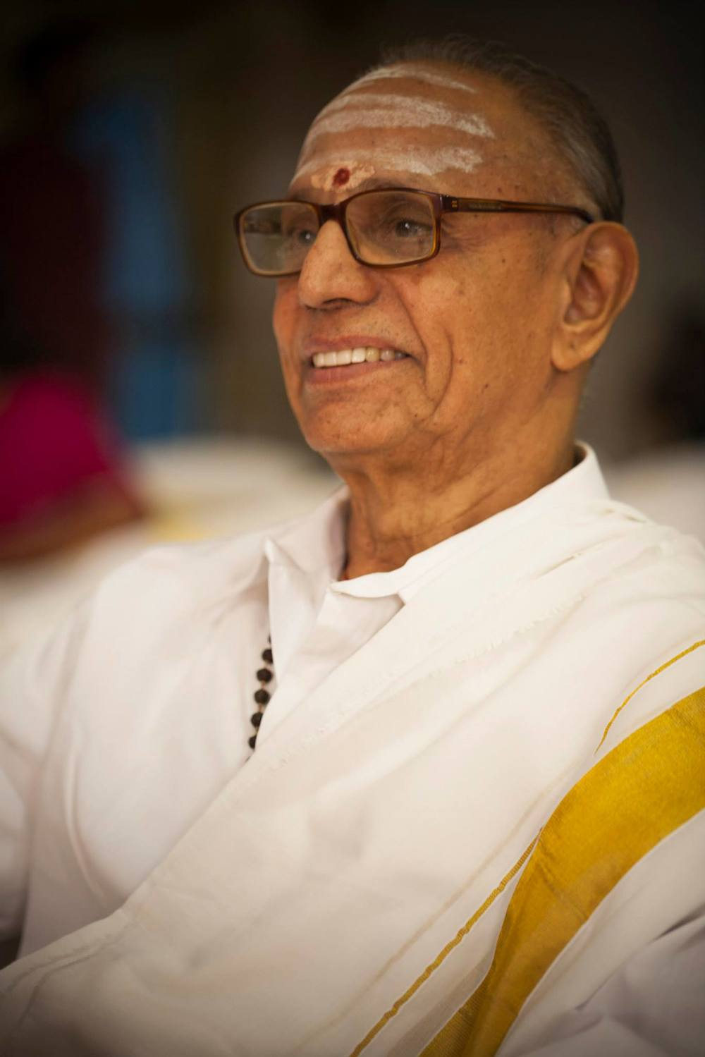 Sri K.R. Yegnarathnam. Photo by PV Subramaniam, 2013.