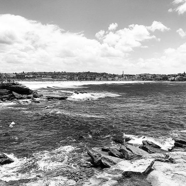 Bondi beach, you make me sick! . . . . . #sydney #bondi #travel #adventure #blackandwhite #gay #gaysydney #gaytravel