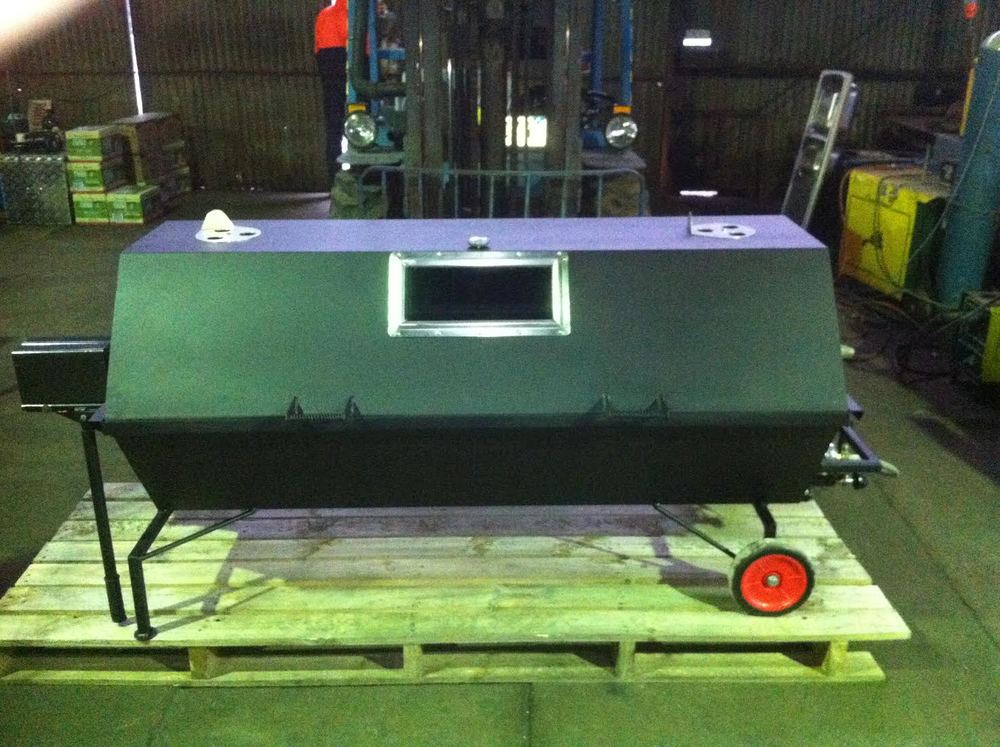 "Spit Roast Designed and Fabricated, Donated To ""Wimmera Against Cancer For Kids"""