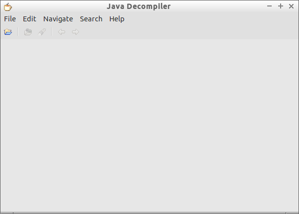 Java decompiler fail