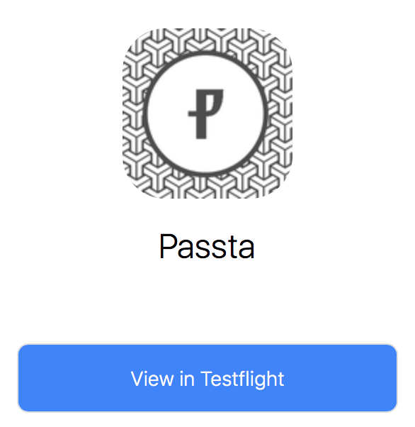 It's almost here! - Passta for iOS is now in Beta!