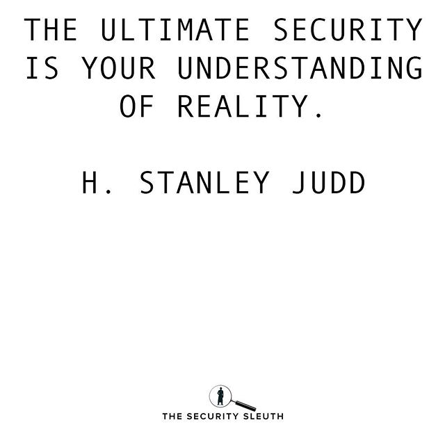 We can not always prepare for every single move our adversaries will make.⠀ ⠀ One way we can combat this is to build an understanding of our reality.⠀ ⠀ Real hackers and real security comes from becoming a master of reality.⠀ ⠀ #cybersecurity #jnfosec #quote #securitysleuth #reality #hackers #hstanleyjudd #moves #hacking #security #informationsecurity #matrix #strategy
