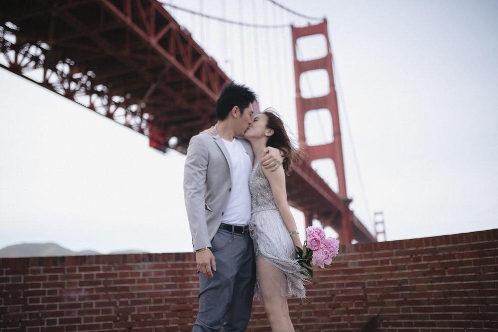 Christina + Brian - San Francisco, California