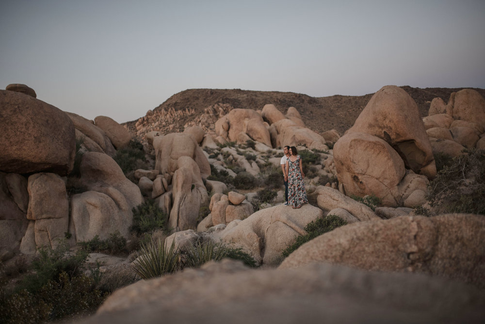 carla + mynor - Joshua Tree , California