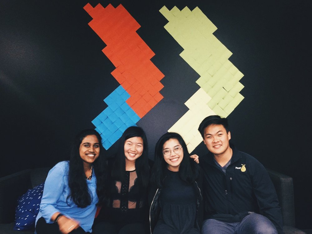 The team (nicknamed Beluga Whales) at Google Launchpad in San Francisco. Thank you to my incredible and thoughtful teammates for dedicating their talents and energy to advocate for spaces that are addressing food insecurity at UC Berkeley.