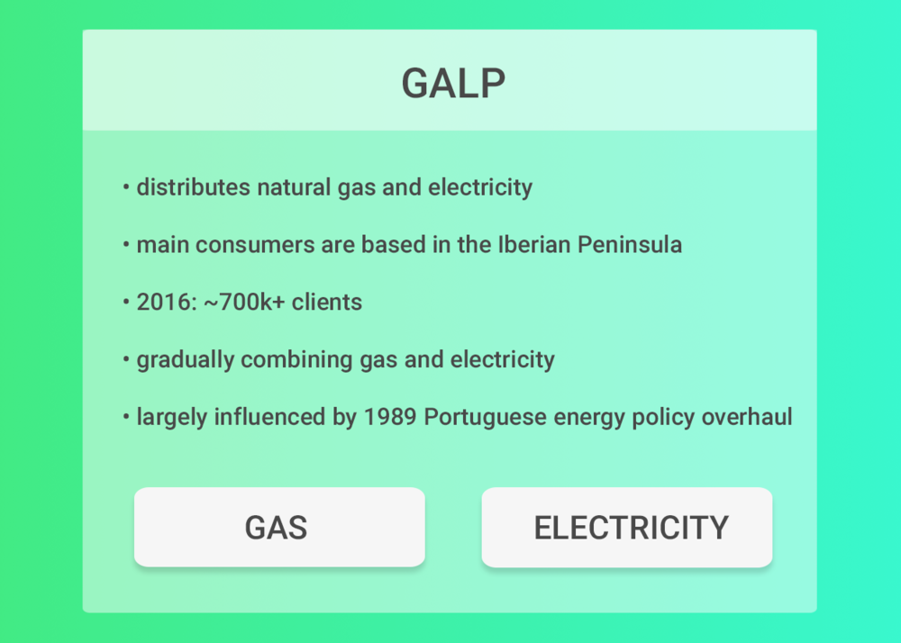 Understanding Galp as a corporation