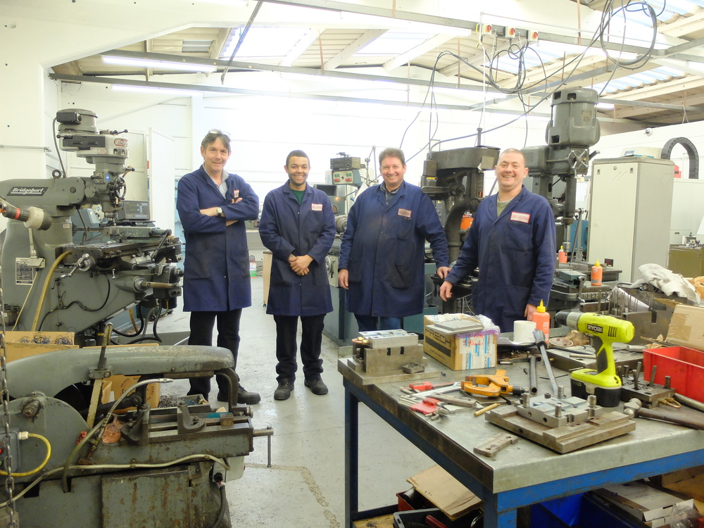Part of the die casting team