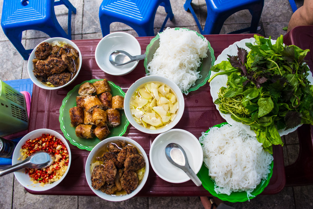 State of affairs for food in vietnam