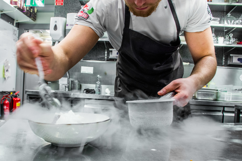 Expect to find chefs in Iceland preparing some very creative (and delicious) dishes