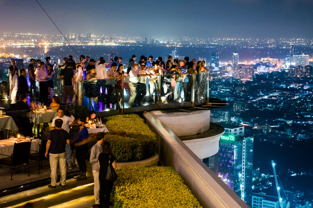 The 5 Best Rooftop Bars In Bangkok Thailand No