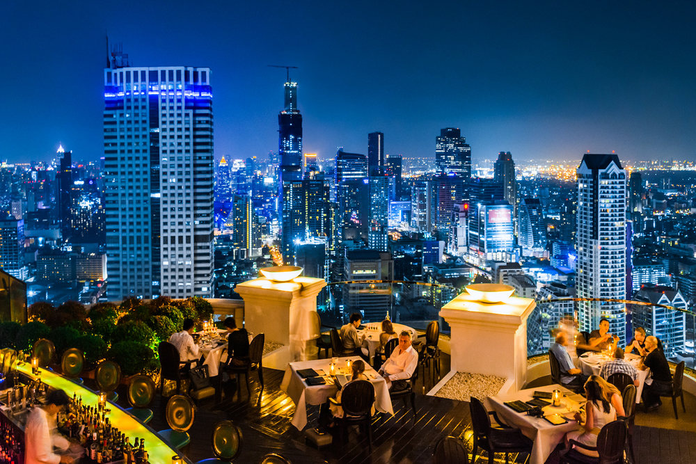 The 5 Best Rooftop Bars In Bangkok Thailand No Destinations