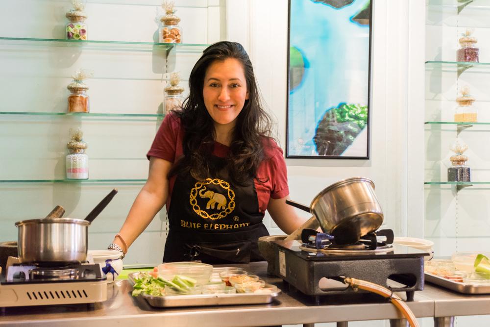 یادگیری آشپزی به سبک تایلندی