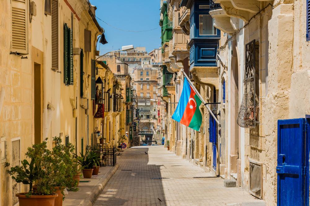 The old town of Valetta - Malta's capital