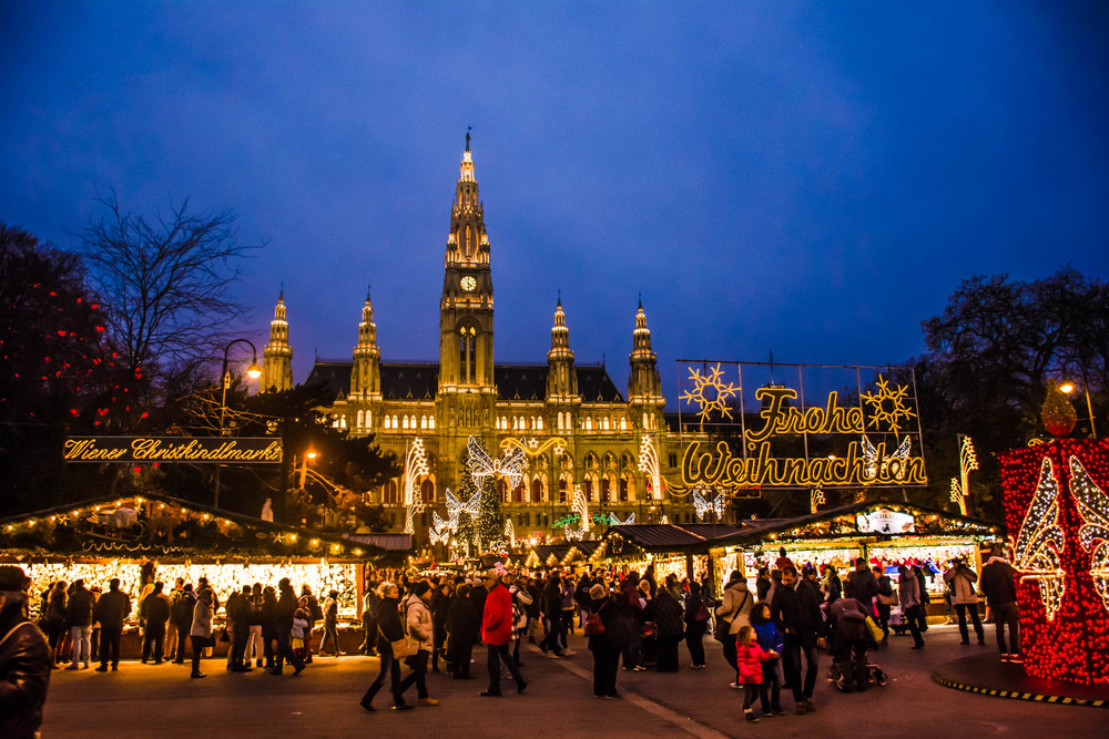 One of the many Christmas Markets taking over the streets