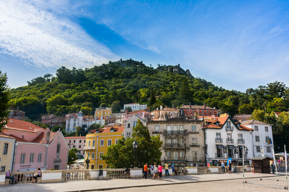 The historical center of Sintra