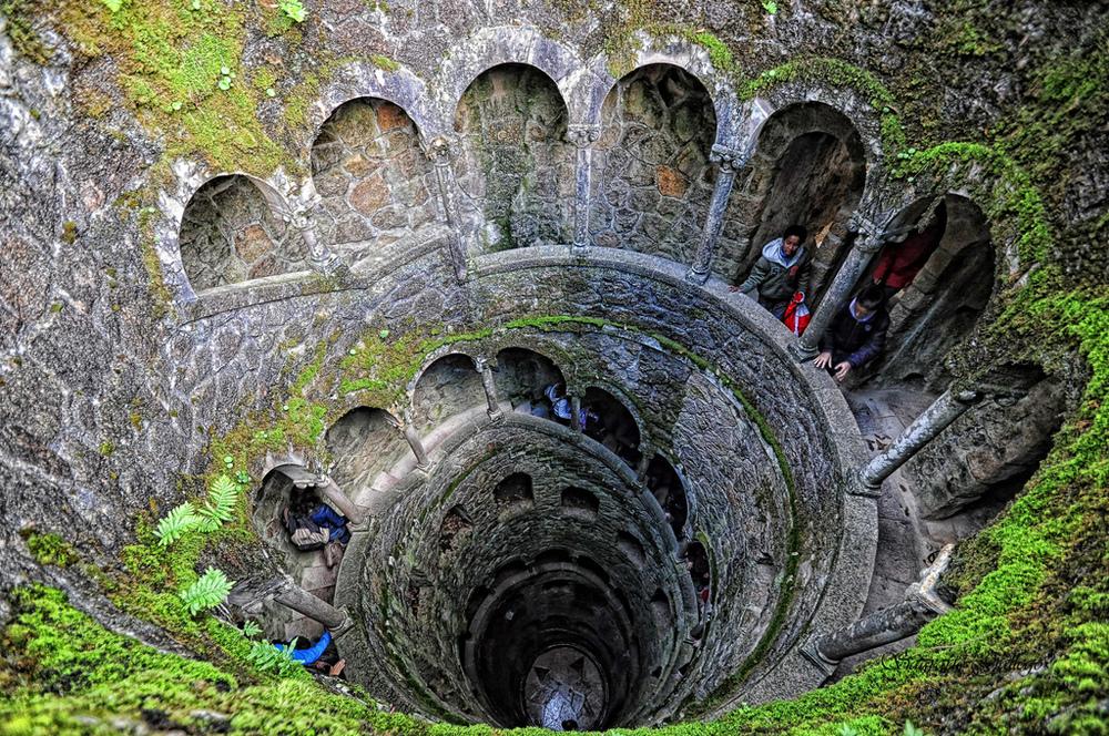 One of the wells inside Quinta da Regaleira. * Photo courtesy of Quinta da Regaleira