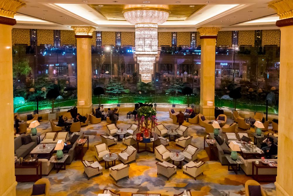 The original lobby, so quintessentially Shangri-La!