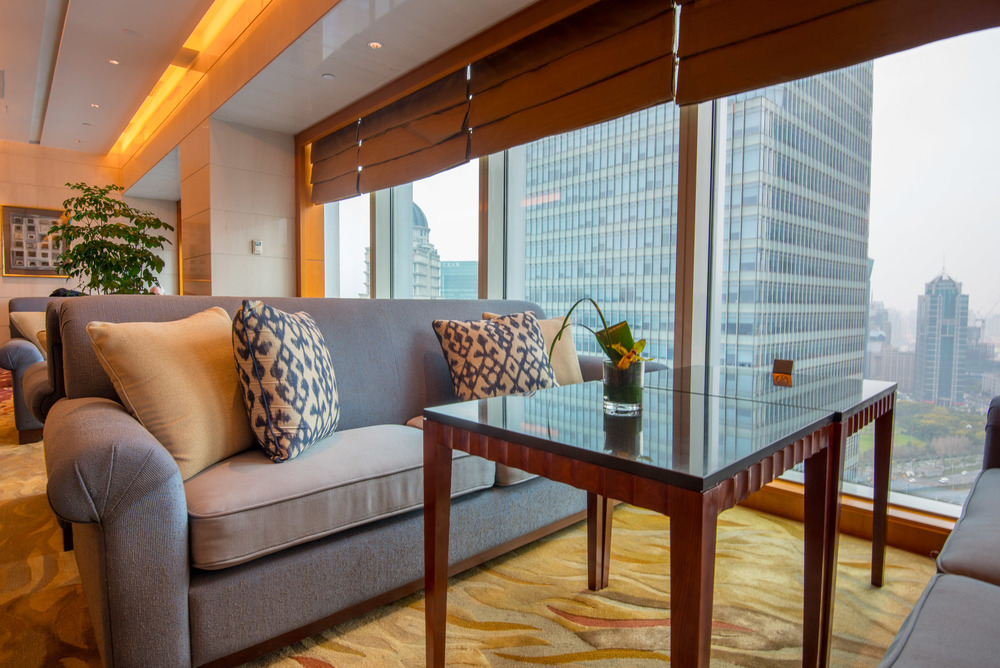A look inside the Horizon Club at the Shangri-La Pudong