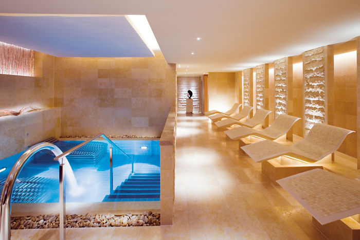 Inside the spa at the Landmark Hotel in Hong Kong. *Picture provided by the Landmakr Oriental