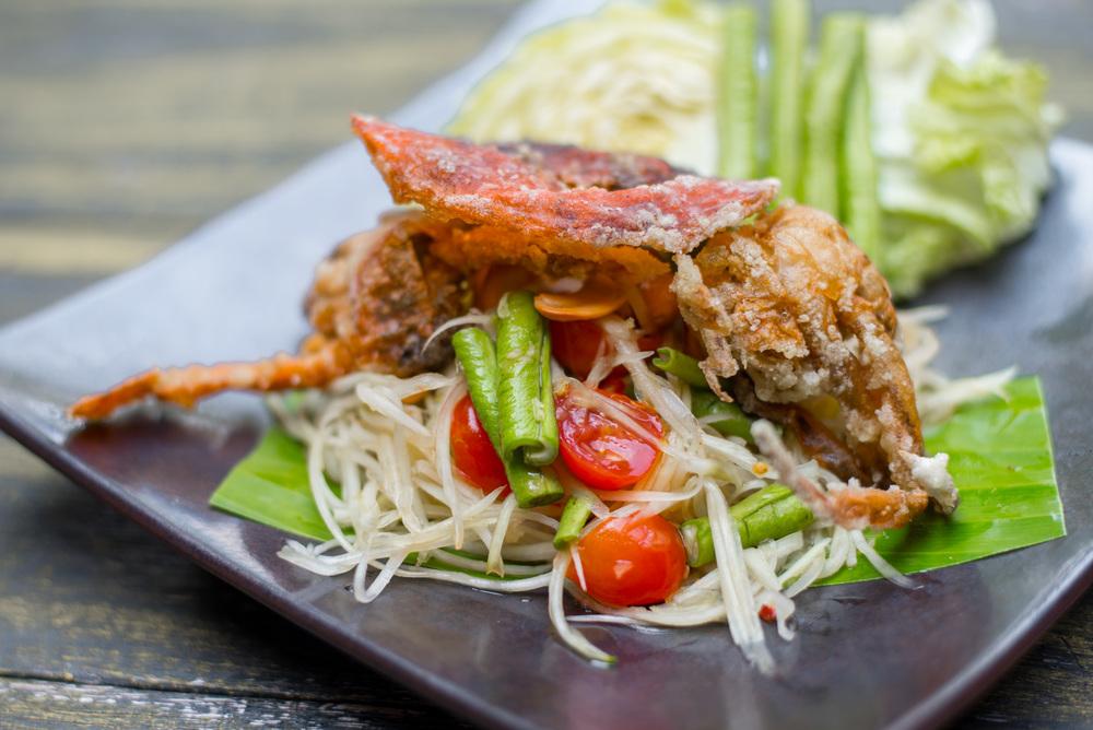 Lunch at Sala Mae Rim at Four Seasons Chiang Mai
