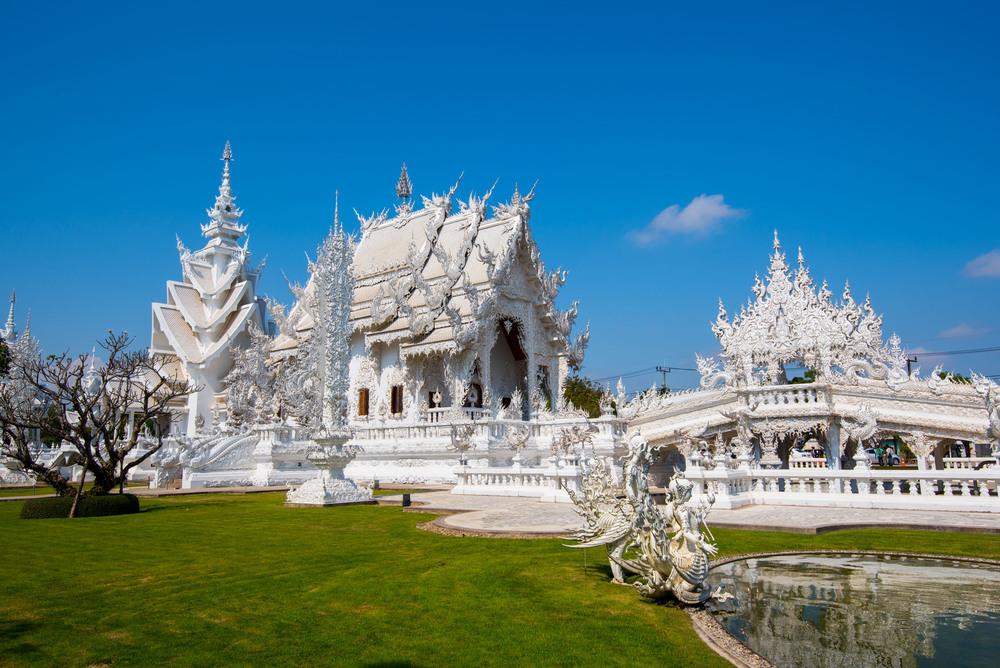 Made a pit stop at the Wat Rong Khun in Chiang Rai