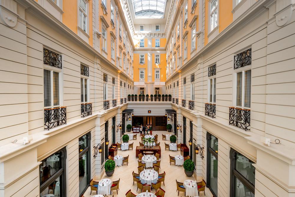 Brasserie & Atrium at Corinthia Hotel Budapest
