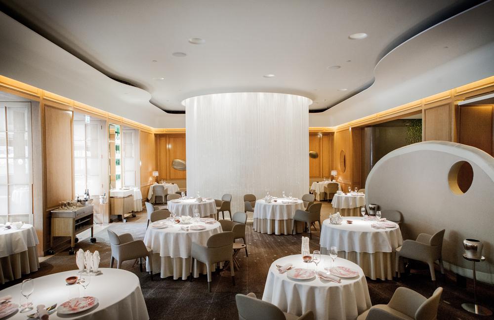 Inside Alain Ducasse restaurant at the Dorchester London * Image provided by Alain Ducasse