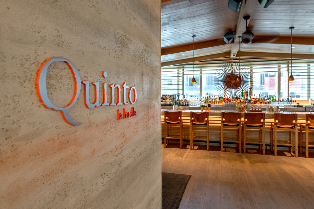 The entrance to Quinot La Huella at EAST Miami