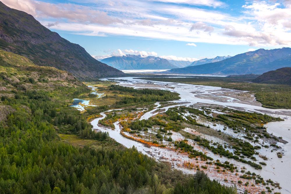 The beautiful Alaskan countryside!