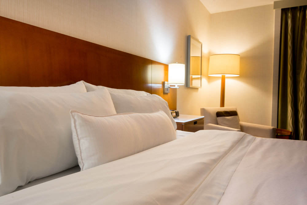 The Heavenly Beds, really are heavenly at The Westin Bayshore, Vancouver