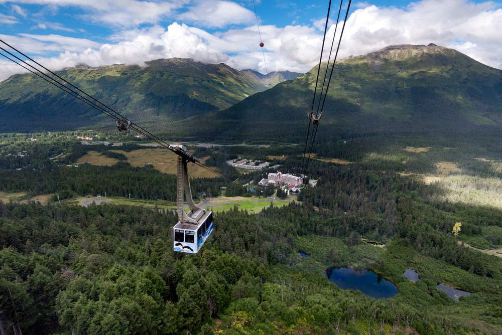Take the tram up the mountain for amazing views