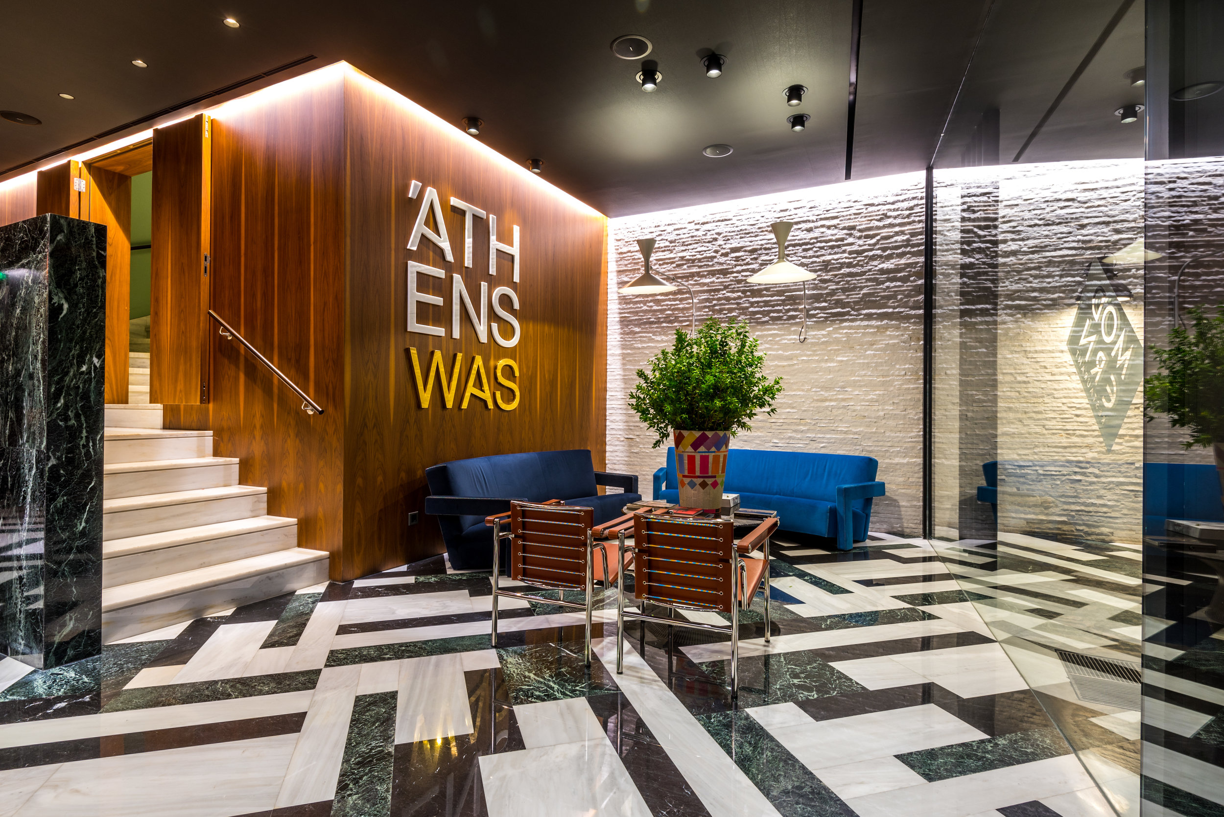 Athenswas hotel a design hotel in the heart of athens for Design hotel athens