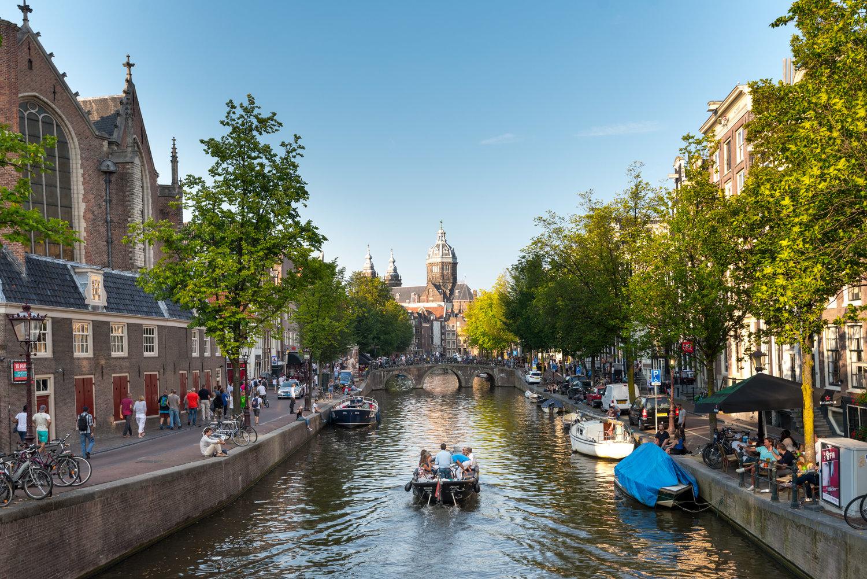 Kết quả hình ảnh cho Amsterdam Canal