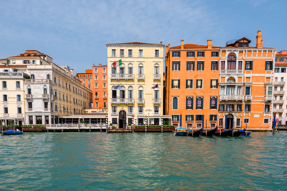 The Westin Europa & Regina sits directly on the famed Grand Canal