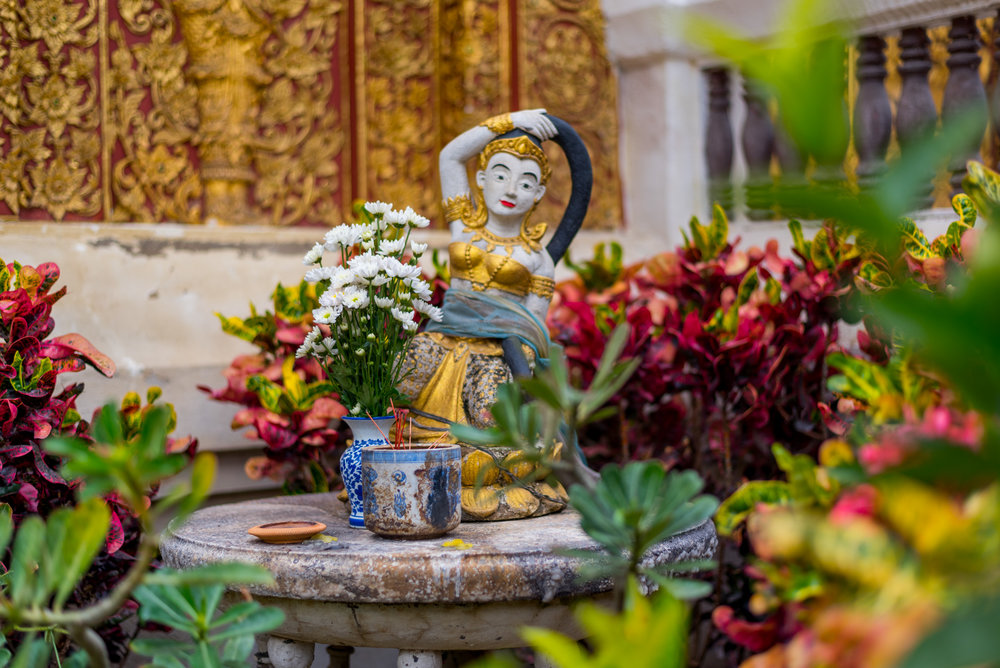 There are over 300 temples in Chiang Mai, so definitely get out and walk around!
