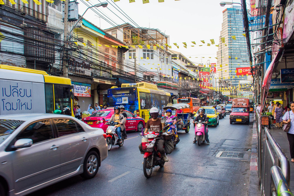 Wander the infinitely interesting streets of Bangkok