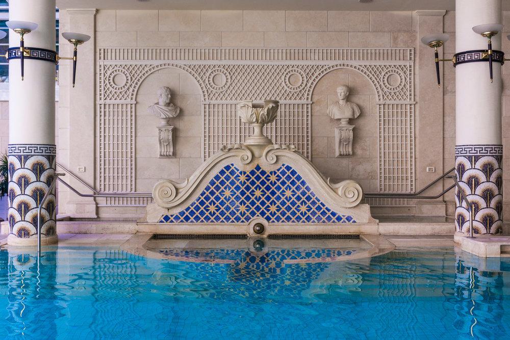 The Pool at the Rome Cavalieri