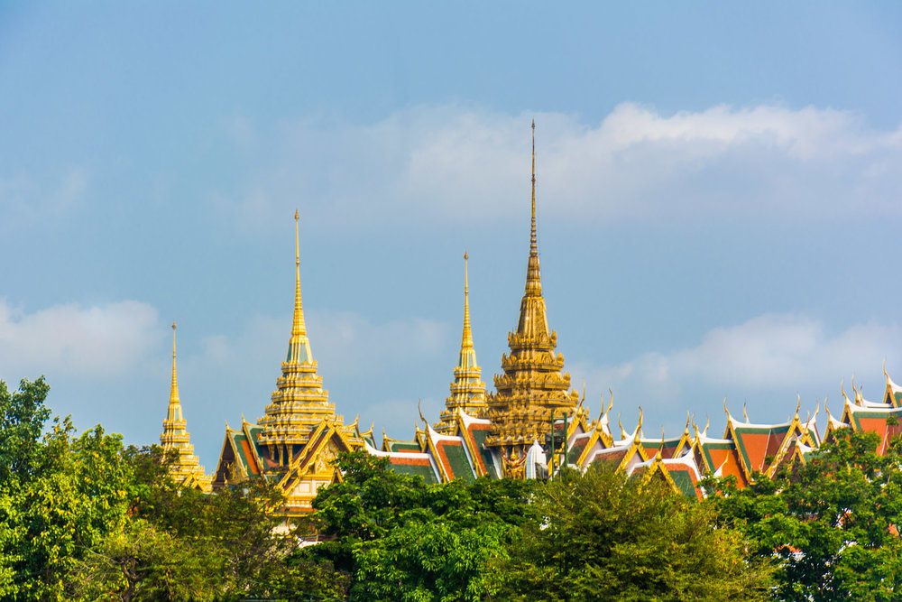 View of the Palace from the Chao Phraya River