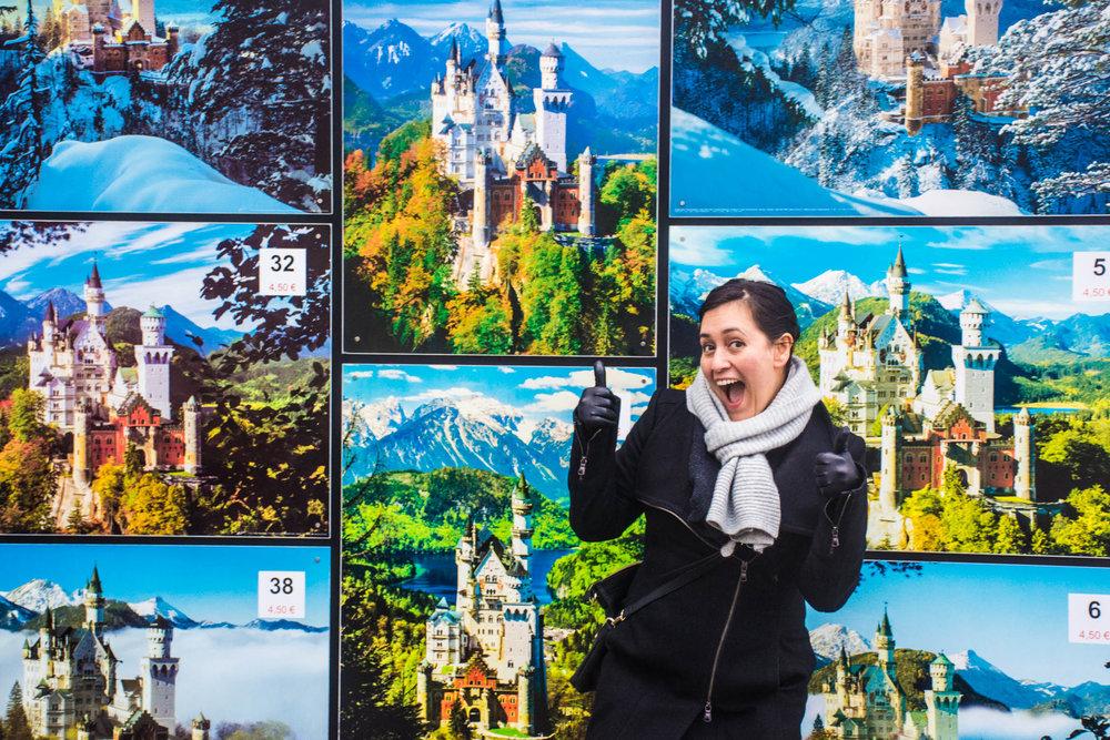 Danika was very excited to see Neuschwanstein Castle