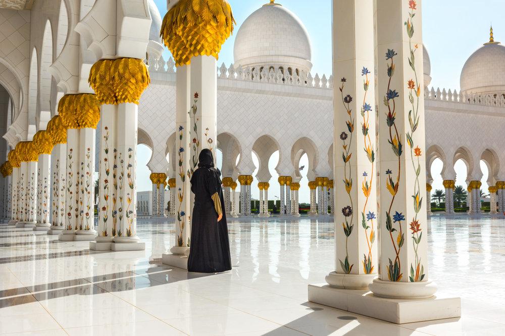 Danika in Abu Dhabi